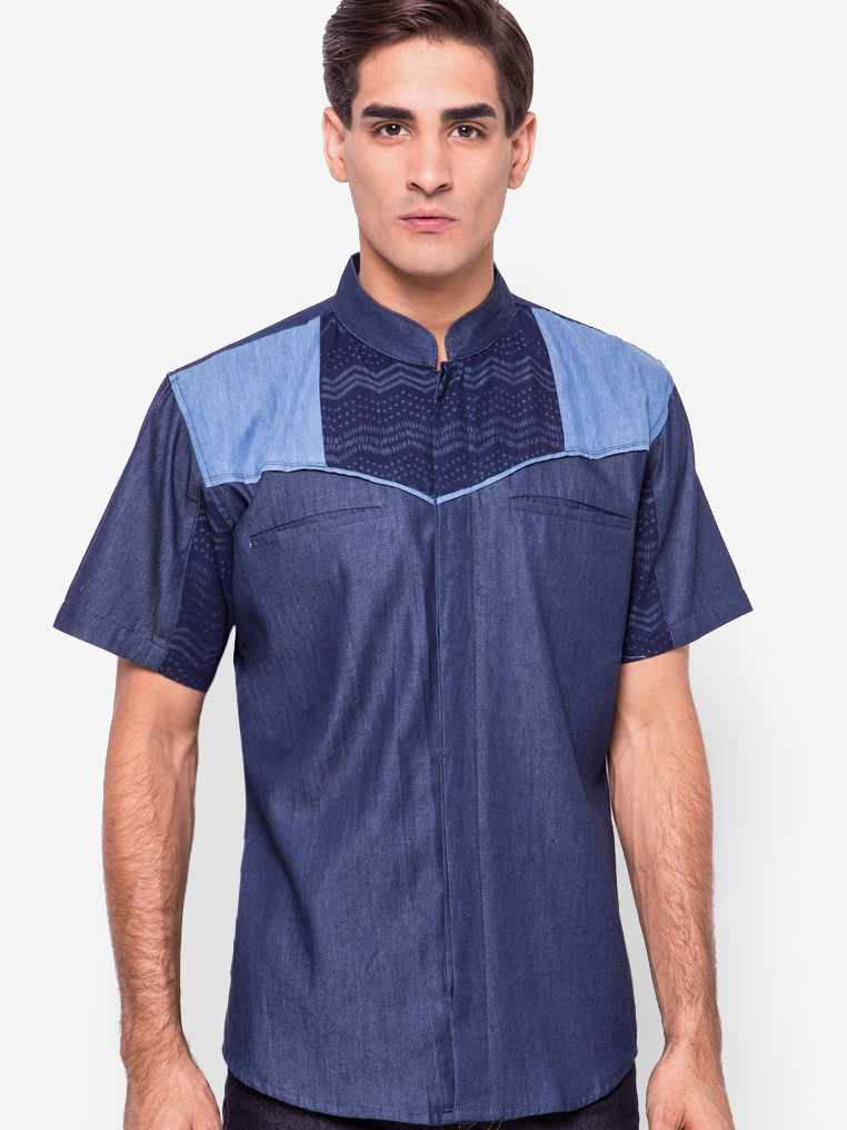 Alvaro Shirt [Dark Blue]