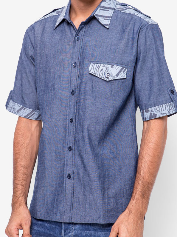 Dorian Shirt [ Blue ]